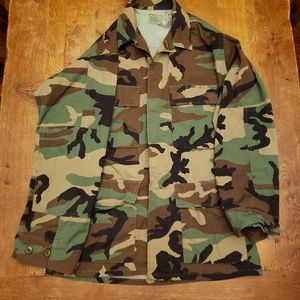 US Army camo military jacket